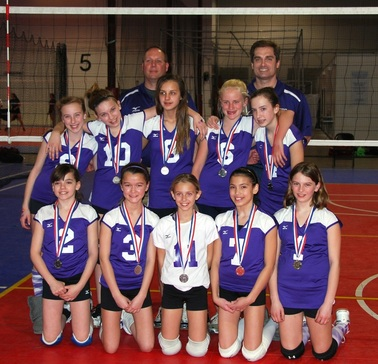 Girls 12s Chantilly Volleyball Club